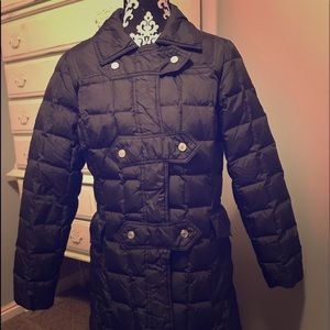 Knee-Length Down Puffy Winter Jacket